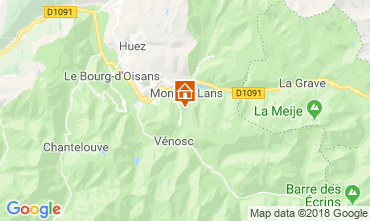 Karte Les 2 Alpes Appartement 116800