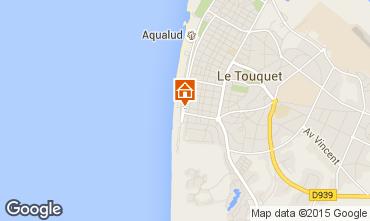 Karte Le Touquet Studio 30785