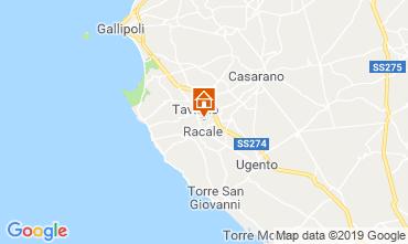 Karte Gallipoli Villa 102473