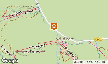 Karte Val d'Isère Studio 3353