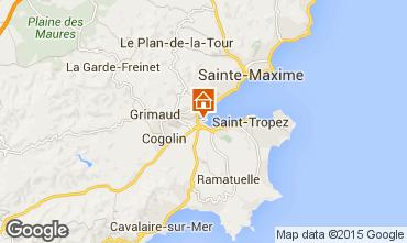 Karte Saint Tropez Appartement 5689