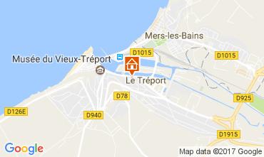 Karte Le Tréport Studio 108873