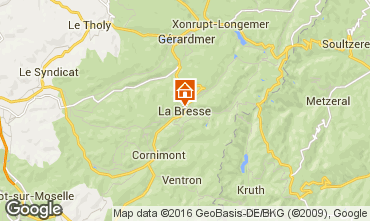 Karte La Bresse Hohneck Appartement 58987