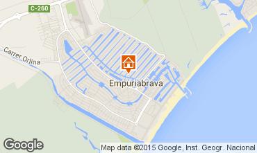 Karte Empuriabrava Villa 92908