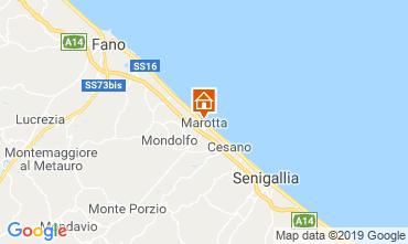 Karte Fano Appartement 103623