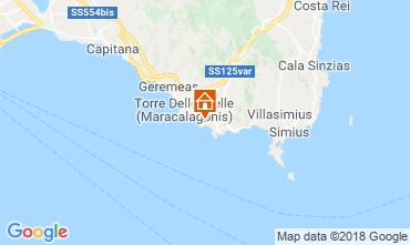 Karte Villasimius Appartement 116622