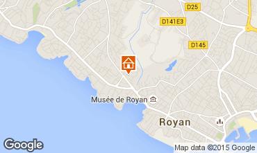 Karte Royan Appartement 92504