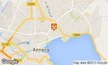 Karte Annecy Studio 95281