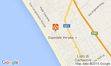 Karte Marina di Pietrasanta Villa 104237