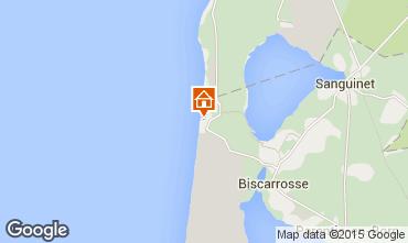 Karte Biscarrosse Studio 6547