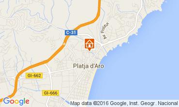 Karte Playa d'Aro Appartement 98671
