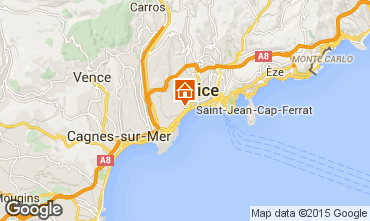 Karte Nice Appartement 101412
