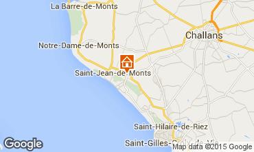 Karte Saint Jean de Monts Mobil-Home 101462