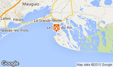 Karte Le Grau du Roi Appartement 86917
