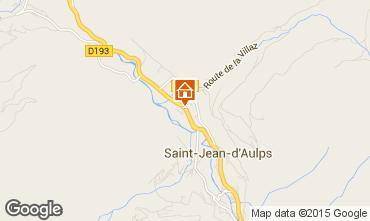 Karte Saint Jean d'Aulps- La Grande Terche Chalet 70306