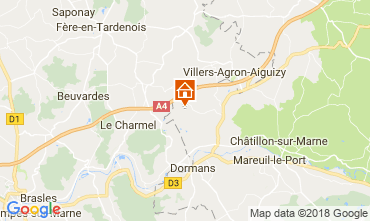 Karte Reims Haus 115024