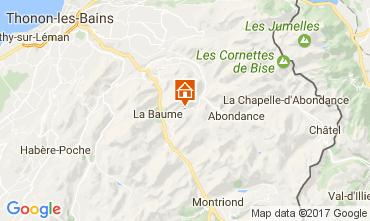 Karte Abondance Chalet 38701
