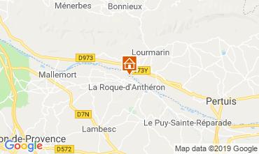 Karte Mallemort Mobil-Home 117647