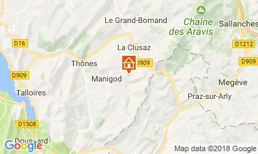Karte Manigod-Croix Fry/L'étale-Merdassier Appartement 115080