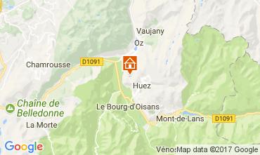 Karte Alpe d'Huez Appartement 67048