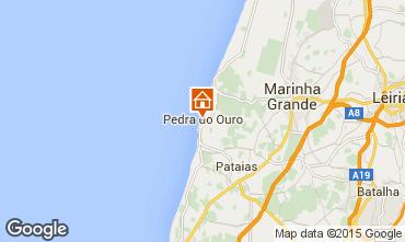 Karte São Pedro de Moel Appartement 58059