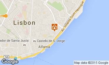 Karte Lissabon Appartement 76166