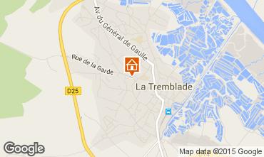 Karte La Tremblade Haus 94953