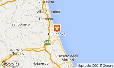 Karte Giulianova Appartement 96791