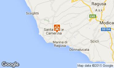 Karte Ragusa Höhlenwohnung 77543