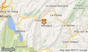 Karte La Clusaz Chalet 60510