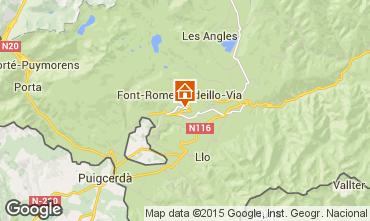Karte Font Romeu Appartement 64929