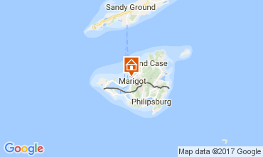 Karte Marigot Appartement 108399