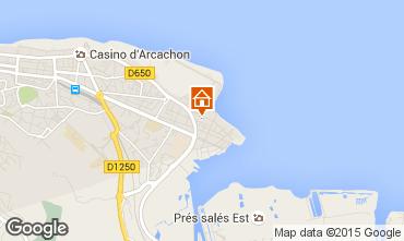 Karte Arcachon Studio 73087