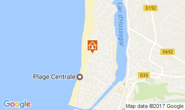 Karte Hossegor Villa 31957