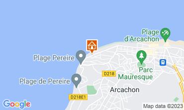 Karte Arcachon Appartement 83194