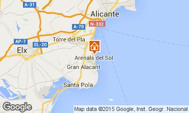 Karte Alicante Appartement 77401