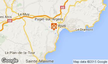 Karte Saint Aygulf Mobil-Home 58302