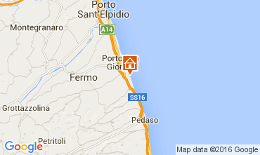 Karte Porto San Giorgio Bungalow 103911