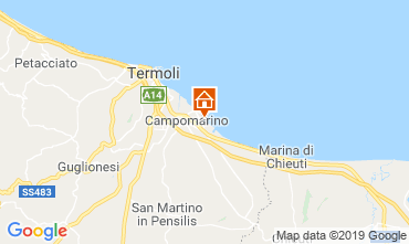 Karte Campomarino Appartement 16514