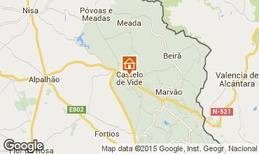 Karte Castelo de Vide Haus 46710
