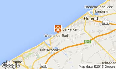 Karte Middelkerke Bungalow 91436