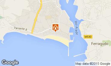 Karte Praia da Rocha Appartement 61203