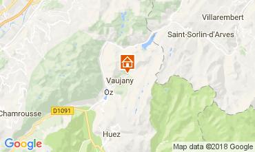 Karte Alpe d'Huez Chalet 113371