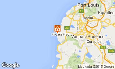 Karte Flic-en-Flac Appartement 81616