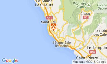 Karte Saint Leu Bungalow 103956