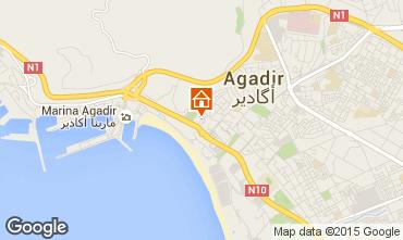 Karte Agadir Appartement 61035