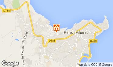 Karte Perros-Guirec Appartement 7423