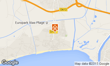 Karte Vias Plage Mobil-Home 96955