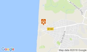 Karte Le Touquet Appartement 112814
