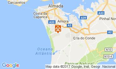 Karte Lissabon Villa 64362